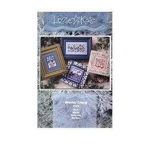 Lizzie Kate Cross Stitch Chart - Winter Crazy
