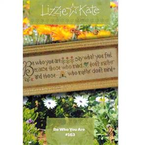Lizzie Kate Cross Stitch Chart - Be Who You Are
