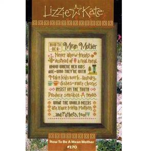 Lizzie Kate  Cross Stitch Chart - How To Be a Mean Mother