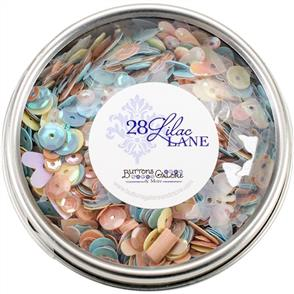 28 Lilac Lane Tin W/ Sequins 40g - Spring Butterflies