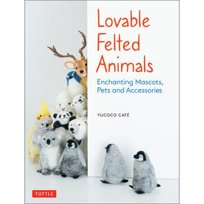 Tuttle Lovable Felted Animals