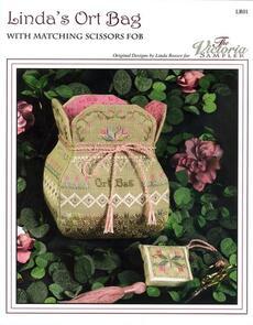 The Victoria Sampler Linda's Ort Bag & Scissors Fob