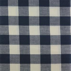 MISC  Large Woven Gingham Navy