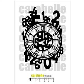 Carabelle Mask - Numbers on a Clock