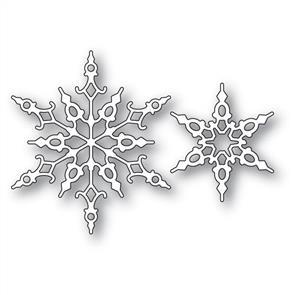Memory Box Crystal Snowflakes - Die