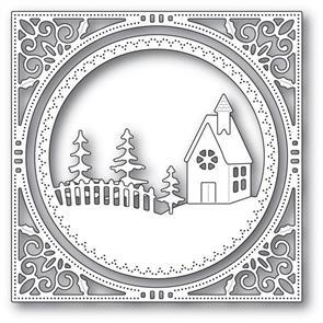 Memory Box Country Church Frame - Die