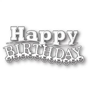 Memory Box  Dies - Carnival Happy Birthday