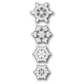 Memory Box Batavia Stitched Snowflakes - Die