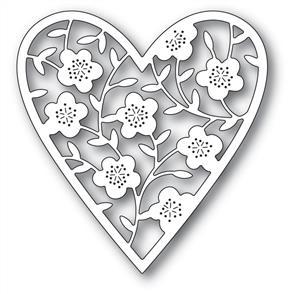Memory Box  Die - Floral Bouquet Heart