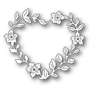 Memory Box  Die - Blooming Heart Wreath