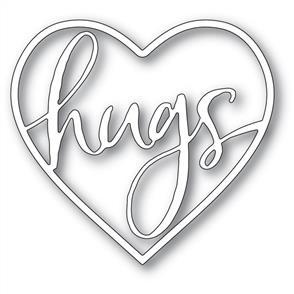 Memory Box  Die - Hugs Loving Heart