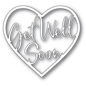 Memory Box Die - Get Well Soon