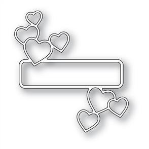 Memory Box  Die - Antique Heart Label