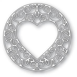 Memory Box  Die - Gilded Heart Circle