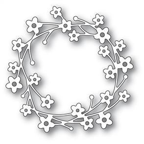 Memory Box  Die - Cherry Blossom Wreath