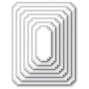 Memory Box  Die - Matinee Rectangle Layers