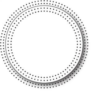 Memory Box  Dies - Pinpoint Circle Frame