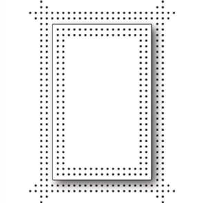 Memory Box  Dies - Pinpoint Double Frame