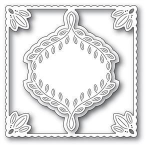 Poppystamps  Leafy Ornament Frame - Die