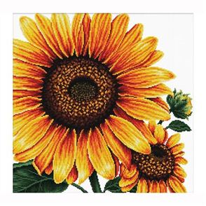 Needle Art World  No Count Cross Stitch Kit - Sunflower