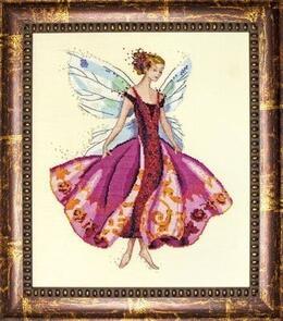 Mirabilia January's Garnet Fairy by Nora Corbet
