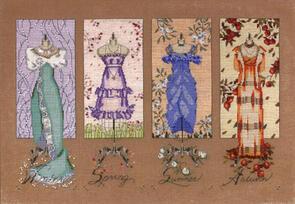 Mill Hill Mirabilia: Dressmaker's Daughter Embellishment Pack