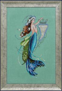 Mirabilia  Cross Stitch Chart + Bead Pack - Siren and the Shipwreck