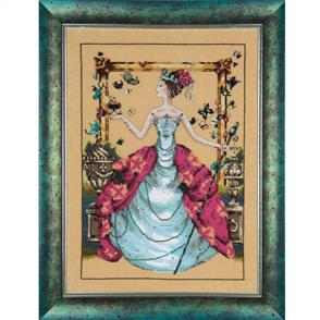 Mirabilia  Cross Stitch Pattern - with Bead Kit: Queen Mariposa