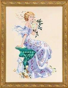 Mirabilia  Cross Stitch Pattern - with Bead Kit: Florentina