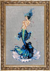 Mirabilia  Cross Stitch Chart + Bead Pack - Aphrodite Mermaid