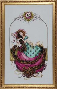 Mirabilia  Cross Stitch Pattern - with Bead Kit: Rapunzel