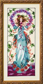 Mirabilia  Cross Stitch Pattern - with Bead Kit: Blossom Goddess