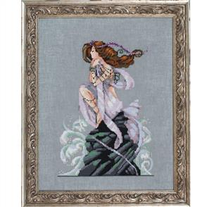 Mirabilia  Cross Stitch Pattern - with Bead Kit: Andromeda