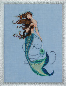 Mirabilia  Cross Stitch Chart + Bead Pack - Renaissance Mermaid