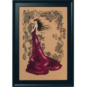 Mirabilia  Cross Stitch Pattern - with Bead Kit: Lady of Mystery