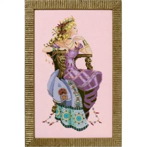 Mirabilia  Cross Stitch Pattern - with Bead Kit: Sun Goddess