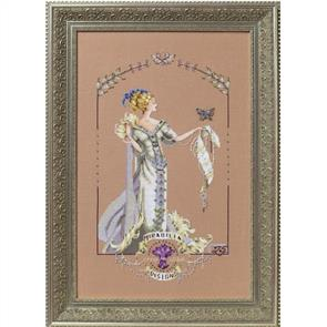 Mirabilia  Cross Stitch Pattern - with Bead Kit: Lady