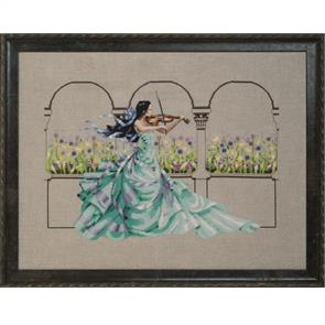 Mirabilia  Cross Stitch Pattern - with Bead Kit: Garden Prelude