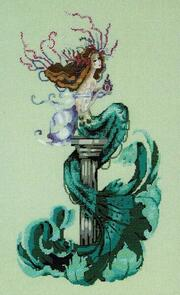 Mirabilia Cross Stitch Chart & Embellishment Pack - Mermaid Perfume