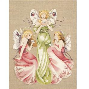 Mirabilia  Cross Stitch Pattern - Three for Tea