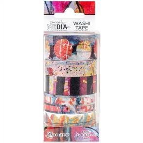 Ranger Ink Dina Wakley Media Washi Tape - Set 2