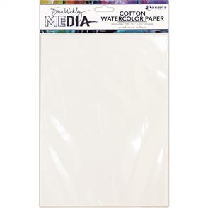 Ranger Ink Dina Wakley Media Cotton Watercolor Paper Pack