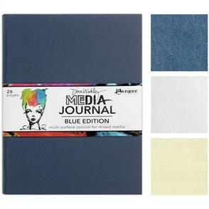 "Ranger Ink Dina Wakley Media Journal 8""X10"" - Blue Edition"