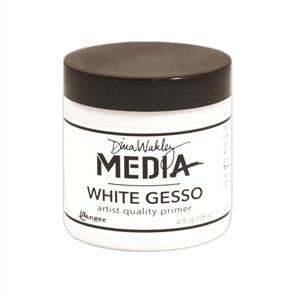 Ranger Ink  Dina Wakley Media Gesso 4oz Jar - White