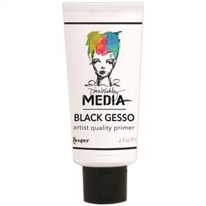 Ranger Ink  Dina Wakley Media Gesso 2oz Tube - Black
