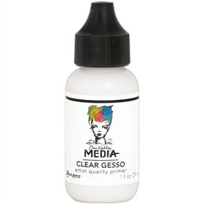 Ranger Ink  Dina Wakley Media Gesso 1oz Tube - Clear