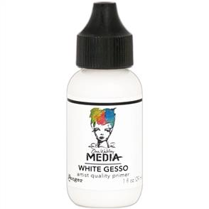 Ranger Ink  Dina Wakley Media Gesso 1oz Tube - White