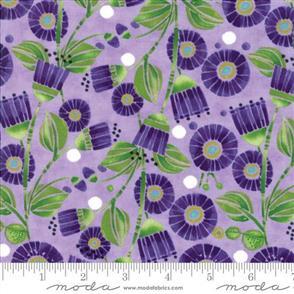 Moda  Sweet Pea & Lily - 48641 Purple