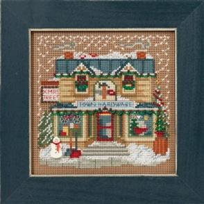Mill Hill  Buttons & Beads Cross Stitch Kit: Town Hardware