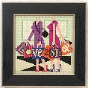 Mill Hill  Buttons & Beads Cross Stitch Kit: Love 2 Shop